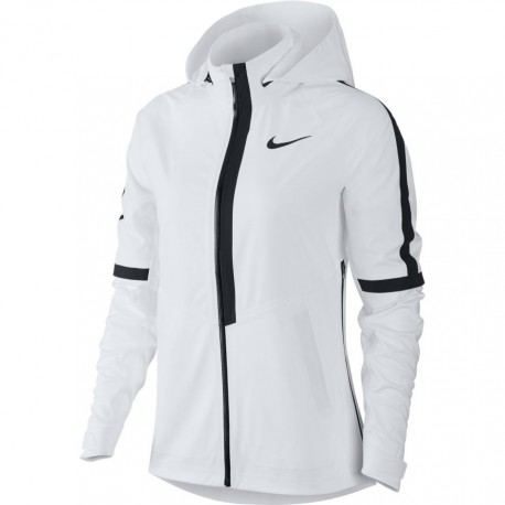 Nike Jkt Donna  Run Aroshld Hd    White/Pure Platinum
