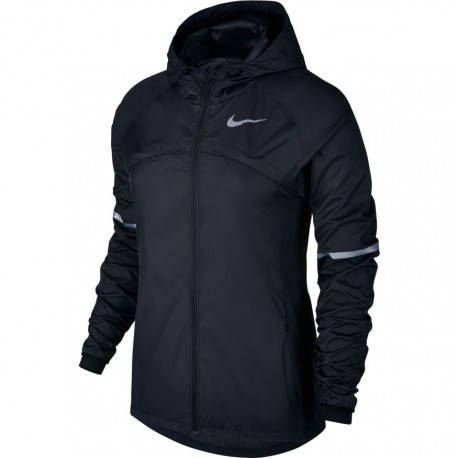 Nike Jkt Donna  Run Shld Hd Black