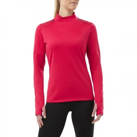 Asics T-Shirt Donna  Ml Rn Lite-Show Winter    Cosmo Pink