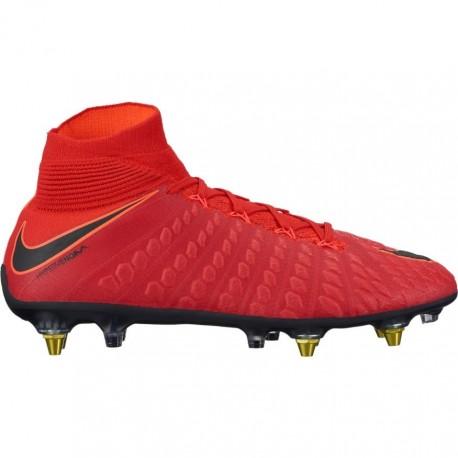 Nike Scarpa Hypervenom Phantom 3 Df Sgpro Red/Black