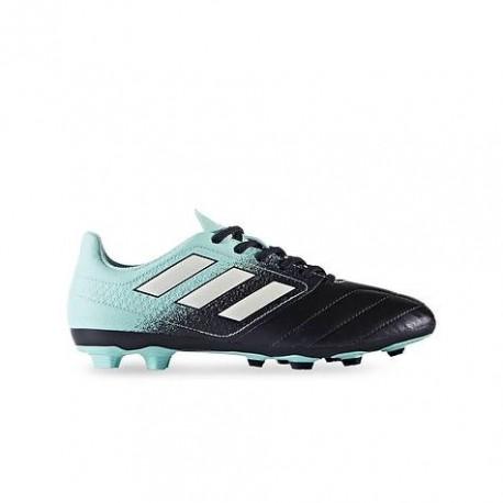 Adidas Scarpa Jr 17.4 Fxg Azzurro/Nero/Giallo