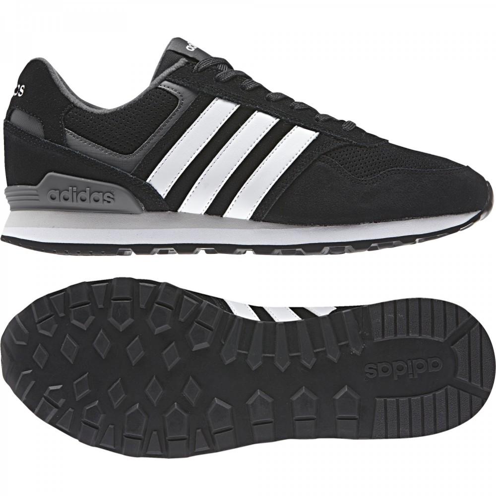 pretty nice fa624 78f06 ... Adidas Scarpa Runed 10k Nero Bianco
