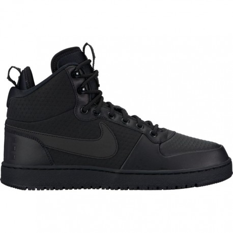 Nike Scarpa Court Borough Mid Winter Black/Black