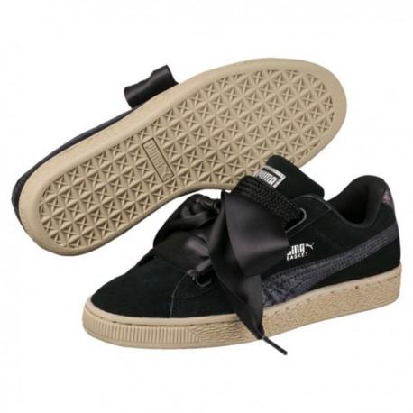 scarpe puma donna platform fiocco