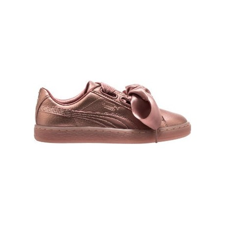 Puma Scarpa Donna Basket Heart Copper Copper Rose