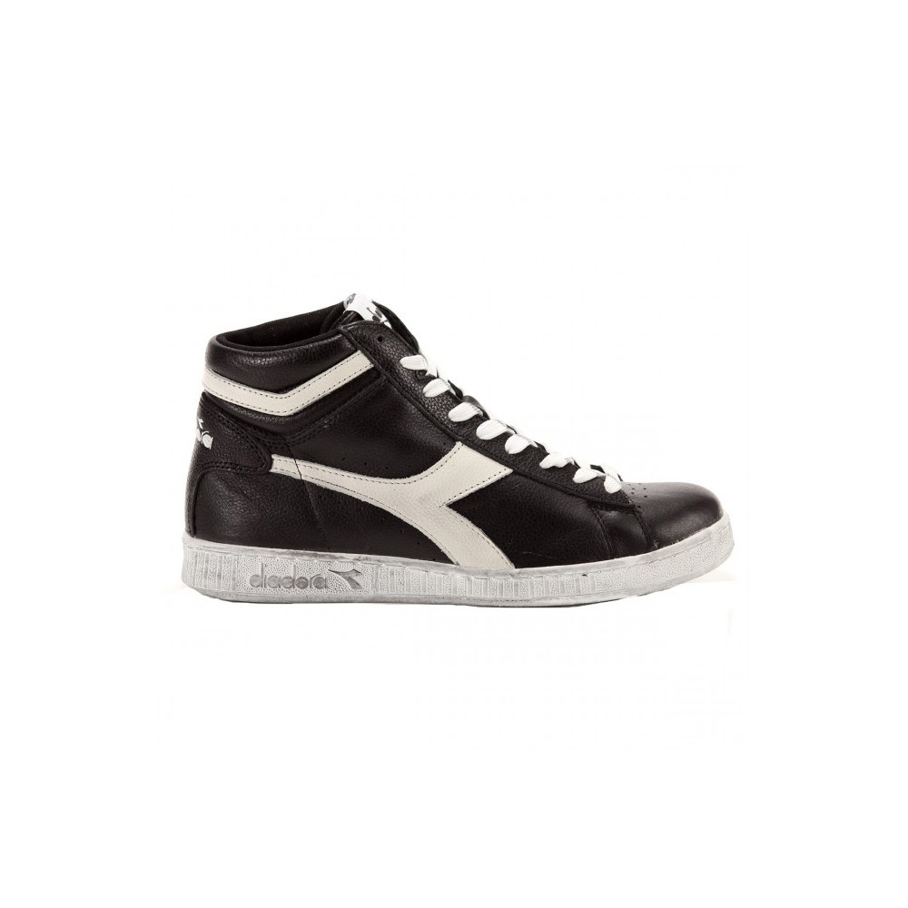 Numero High Game Diadora Nerobianco Lea 42 Waxed Ajqc5RL34