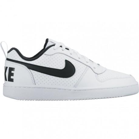 Nike Scarpa Bambino Court Borough Gs Bianco/Nero