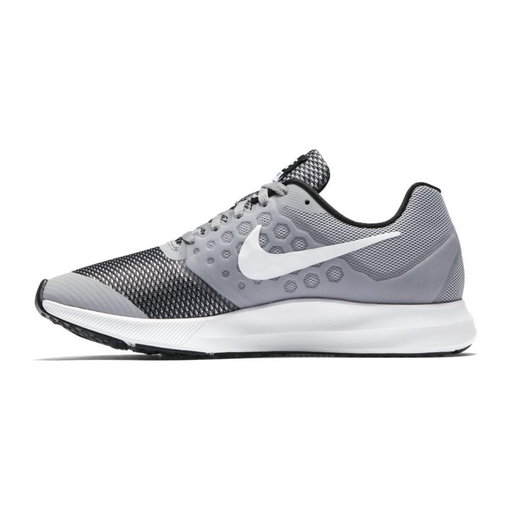 Nike Scarpa Bambino Downshifter 7 Td Grigio/Bianco g7ddO1h