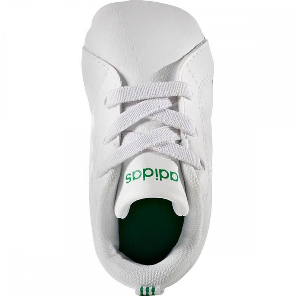 Adidas Scarpa Bambino Advantage Crib Bianco/Verde Envío Libre Se La Salida De Muchos Tipos De Venta Sast OZ6gV0L