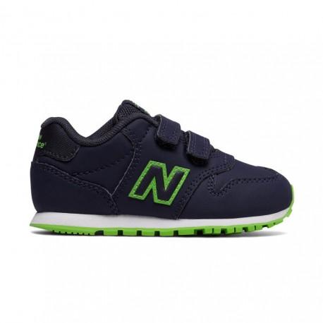 New Balance Scarpa Bambino 500 Neon Blu/Verde
