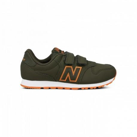 New Balance Scarpa Bambino 500 Neon Verde/Arancio ...
