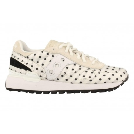 Saucony Shadow Original CL Donna White/Black Pois