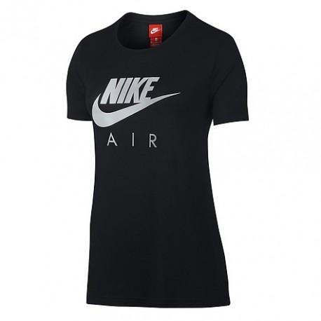 Nike T-Shirt M/M Logo Crom Donna Nero