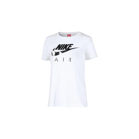 Nike T-Shirt M/M Logo Crom  Donna Bianco