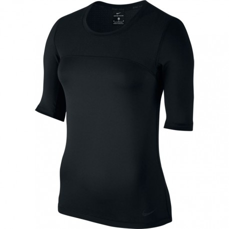 Nike T-Shirt M/M Hprcl  Donna Nero