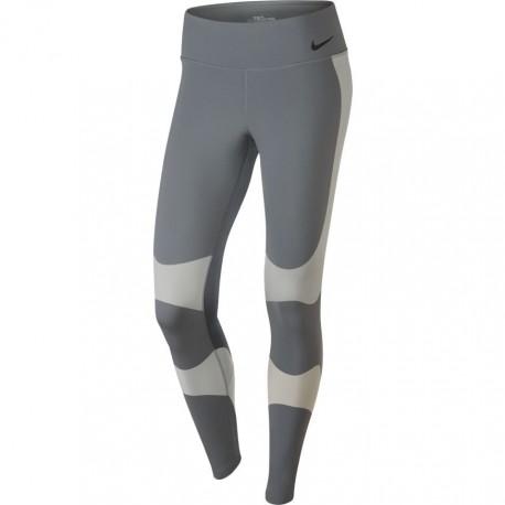Nike Tight Donna Power Lgnd Grigio