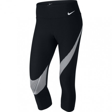 Nike Capri Swoosh Big Donna Nero