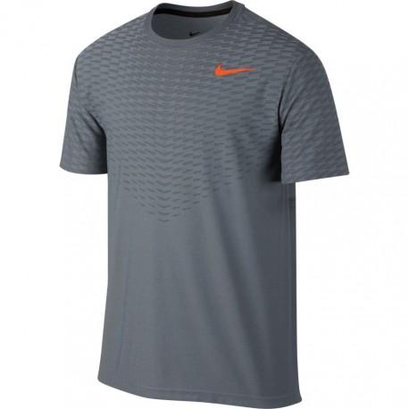 Nike T-Shirt Cl Max Unisex Grigio