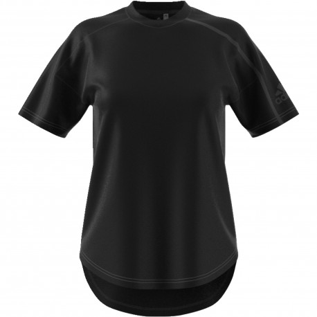 Adidas T-Shirt Zne Donna Nero