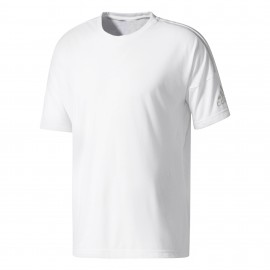Adidas T-Shirt 2 Wool Unisex Bianco