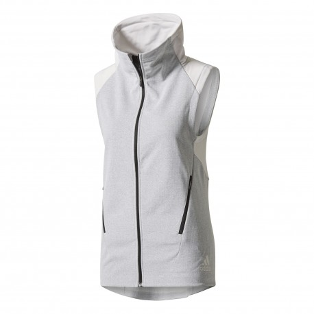 Adidas Gilet Donna Climate Bianco