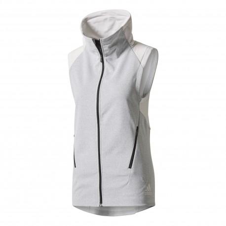 Adidas Gilet Donna Climate Bianco