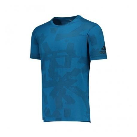 Adidas T-Shirt Train Petrolio