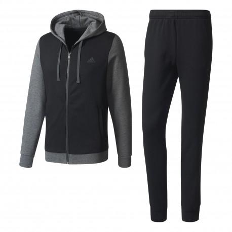 Adidas Tuta Fit Full Zip C Capp Grigio