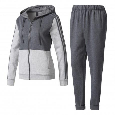 Adidas Tuta Donna Energize Full Zip Cap Donna Grigio