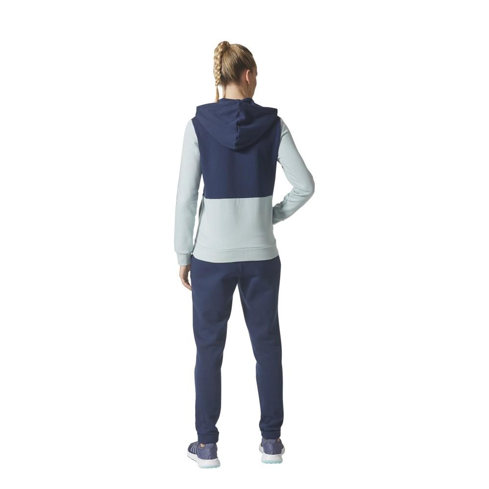 25ac73ad64 ADIDAS tuta donna energize full zip cap blu ce9494 - Acquista online ...