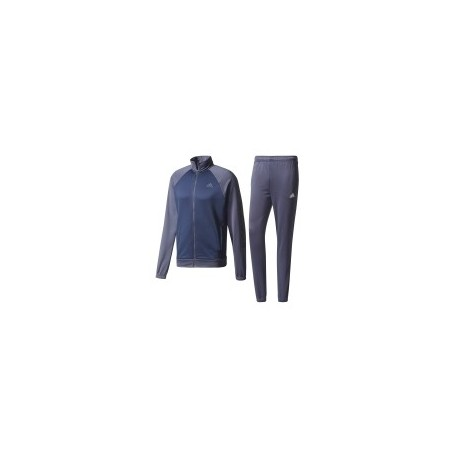 Adidas Tuta Senza Cappuccio Marker Unisex Blu