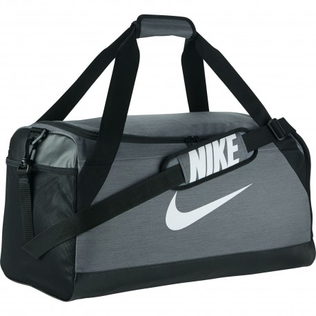 Nike Borsa Brasilia Medium Flint Grey/Black