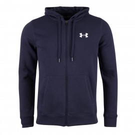 Under Armour Felpa Unisex Zip/Capp Blu