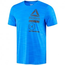 Reebok T-Shirt M/M Unisex Graphic Blu