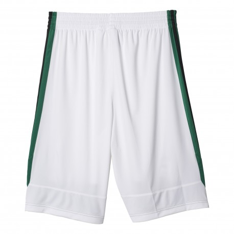 Adidas Short Poly Commander Bianco/Verde