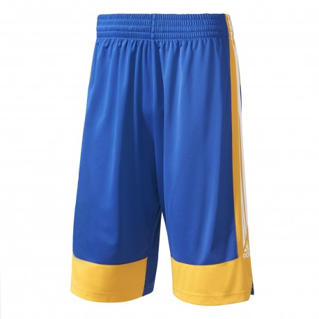 Adidas Short Poly Commander Royal/Giallo