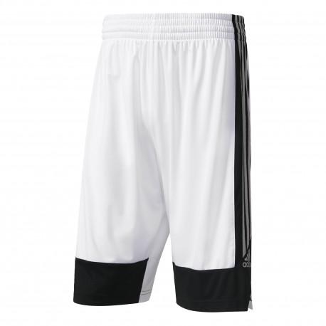 Adidas Short Poly Commander Bianco/Nero