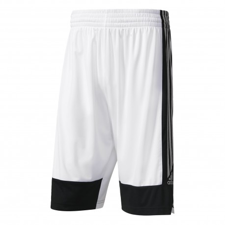 Adidas Short Poly Commander Bianco/Nero
