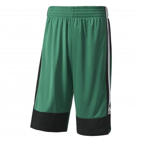 Adidas Short Poly Commander Verde/Nero