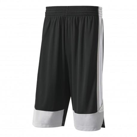 Adidas Short Poly Commander Nero/Grigio