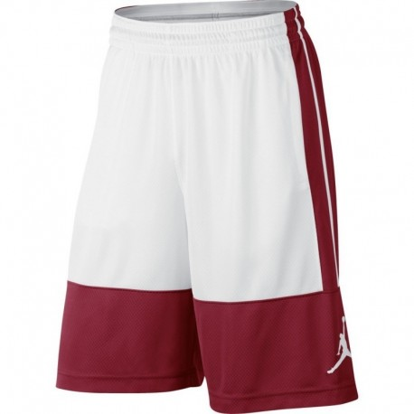 Nike Short Rise Solid Rosso/Bianco