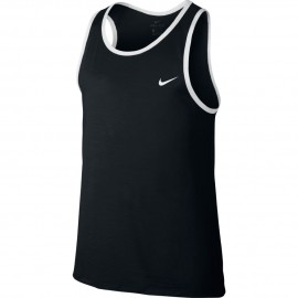 Nike Canotta Basket Crossover Nero/Bianco