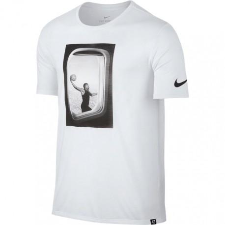 Nike T-Shirt Dry Freq Flyer Bianco/Bianco