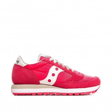 Saucony Scarpa Donna Jazz O Red/White