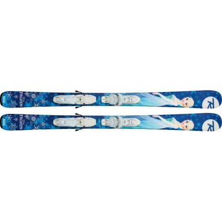 Rossignol Sci Jr Frozen + Kid X 4 White Silver