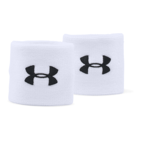 Under Armour Polsino Ua Performance  Bianco/Nero