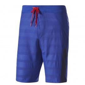 Adidas Short Train Blu