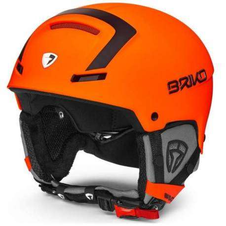 Briko Casco Faito   Matt Orange Fluo