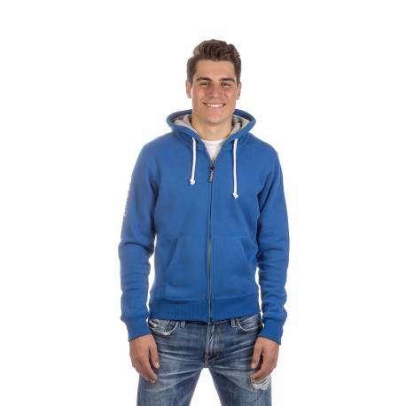 Podhio Felpa C/Capp Azzurro