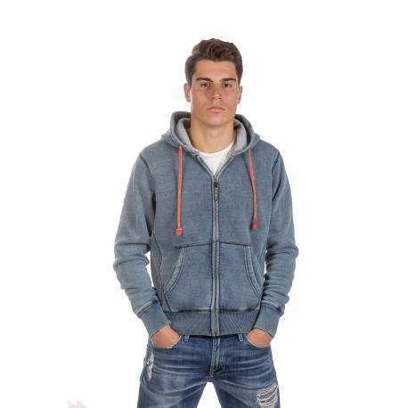 Podhio Felpa C/Capp Jeans